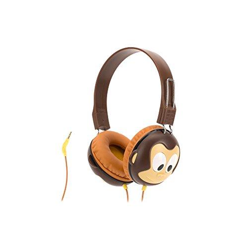 (6192h) Griffin Kazoo Scimmia Myphones Cuffie, Volume Limitato, Marrone Marrone-  - ebay.it