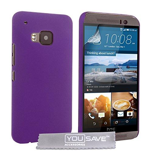 (7179w) Yousave Accessories Custodia Per Htc One M9, Duro Ibrido, Viola Viola-  - ebay.it
