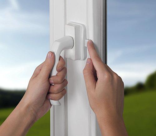 Reer 70010 chiusura di sicurezza per finestra e porta - Blocca maniglia finestra ...