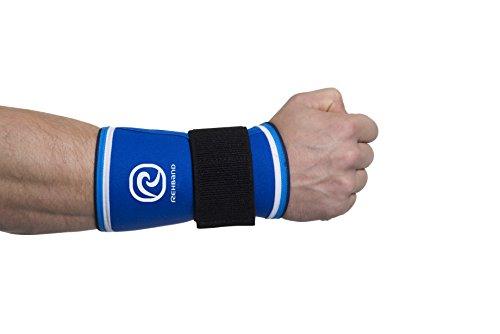(3879h) Rehband, Bendaggio Per Polso Retro, Blu (blau), Xl -  - ebay.it